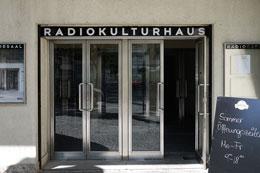 Funkhaus Seiteneingang