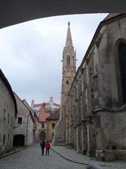 [Bratislava, Klarissinenkloster unter der Burg]