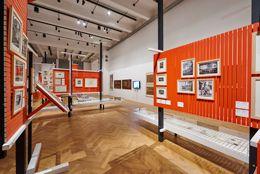 MAK-Ausstellungsansicht, 2016, FRIEDRICH KIESLER. Lebenswelten.MAK-Ausstellungshalle