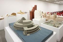 Ausstellungseinblick Ungebautes Salzburg