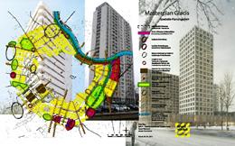 Hochhäuser in der Ringstraßenzone