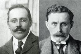 Porträt Josef Hoffmann und Adolf Loos