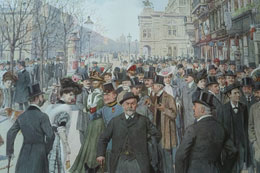 Ringstraßen-Korso, um 1900
