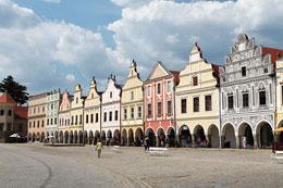 Telč Hauptplatz