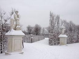 Schönbrunn im Schnee